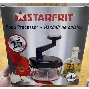 Starfrit Food Processor New - Slight Box Damage